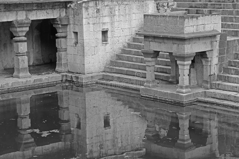 Lord Shiva Temple antique, temple de Siddheshwar images stock