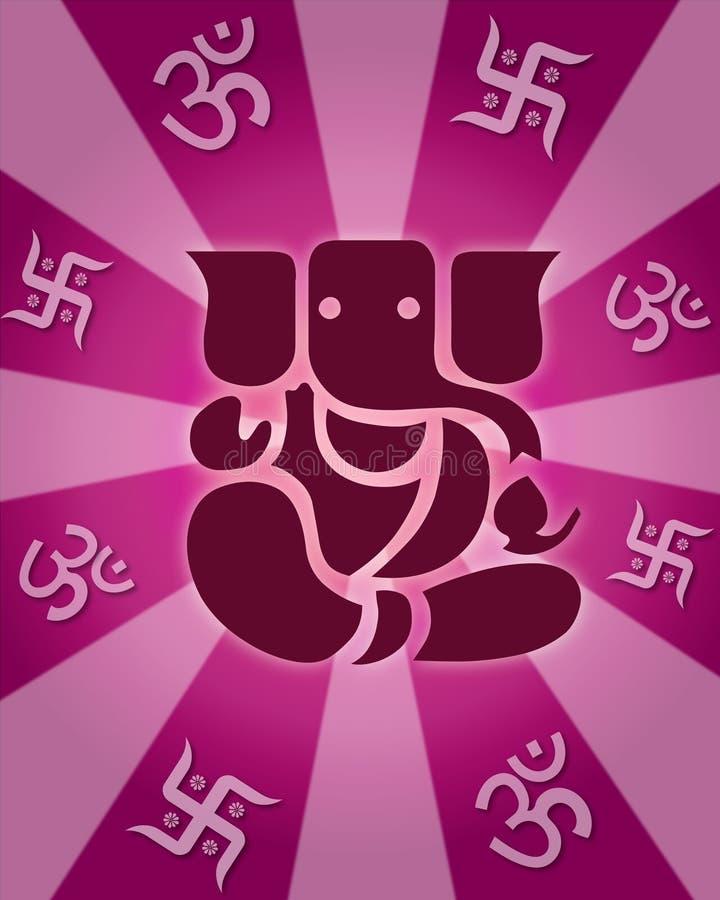 Lord Shree Ganesh lizenzfreie abbildung