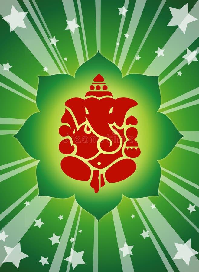 Lord Shree Ganesha   vektor abbildung
