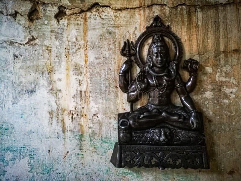 Lord Siva der Gott des Entwurfs stockbild