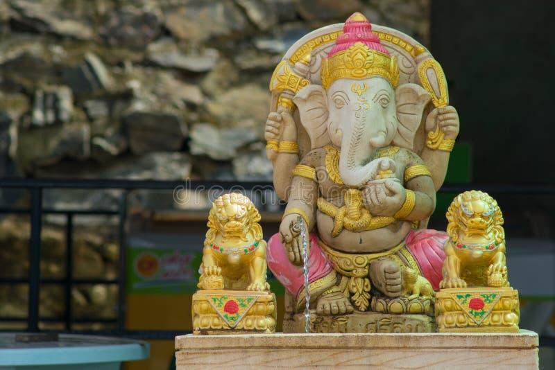 Lord of Success Ganesha Statue royalty free stock photos