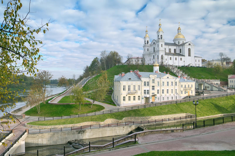 Download The Lord Transfiguration Cathedral  In Vitebsk Stock Photo - Image: 22819136