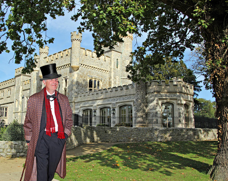 Lord van de manor royalty-vrije stock afbeelding