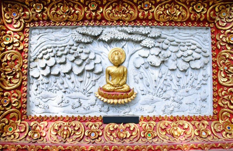 Lord van de Verlichting van Boedha stock afbeelding