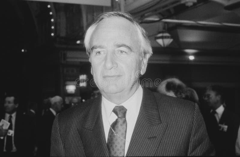 Lord Young van Graffham stock foto