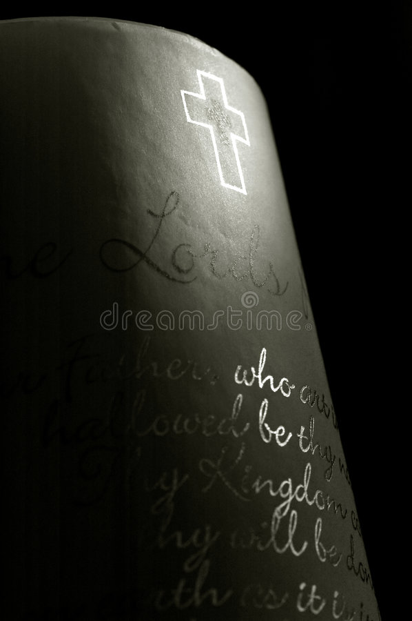 Download Lords prayer stock photo. Image of biblical, easter, illuminated - 4324654