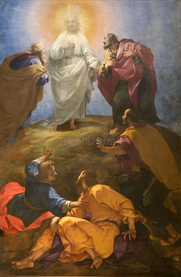 lordtransfiguration royaltyfri foto