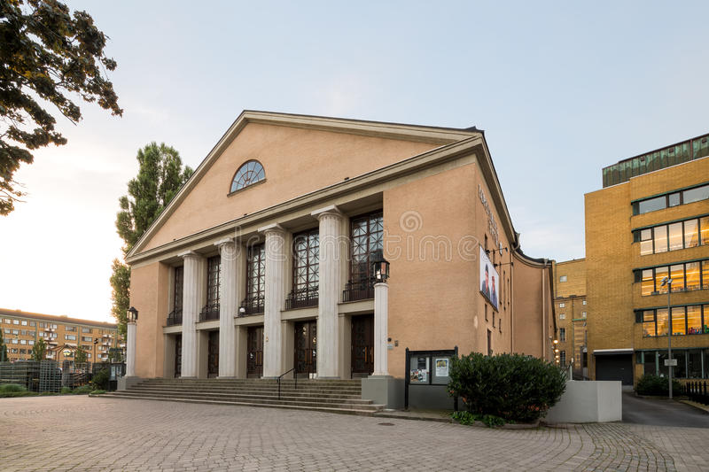 Lorensbergs theatre, another theatre scene in Gothenburg. Lorensbergs theatre, another theatre scene in Gothenburg located near Gotaplatsen royalty free stock image