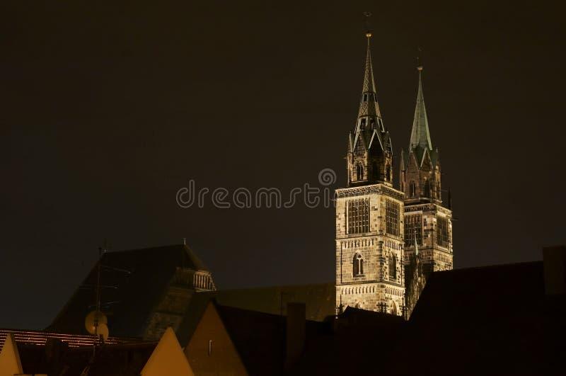 Lorenz świętego kościoła zdjęcia royalty free