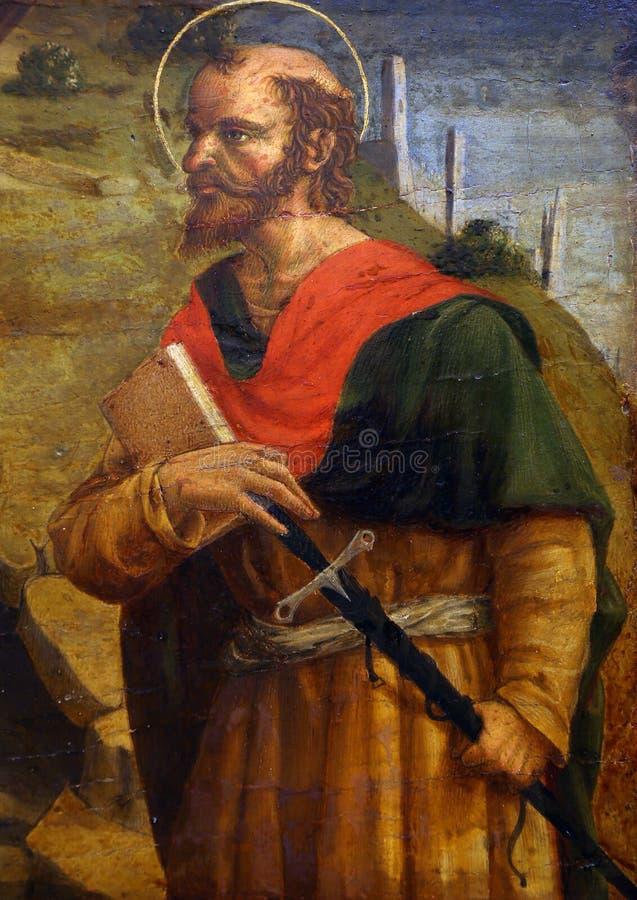 Lorenzo Δ Alessandro: Saint-Paul ο απόστολος στοκ φωτογραφία με δικαίωμα ελεύθερης χρήσης