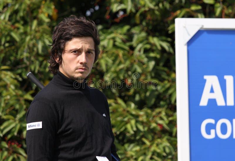 Lorenzo Vera At The Golf Open De Paris 2009 Editorial Stock Photo