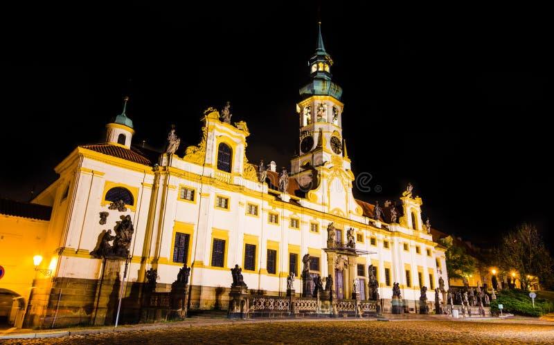 Loreta, barokowy kościół w Praga, republika czech zdjęcie royalty free