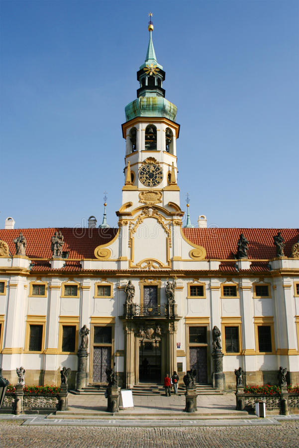 Loreta-Kirche in Prag lizenzfreies stockbild