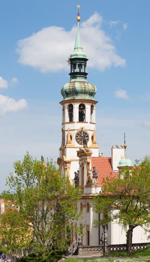 Loreta, Loreto/, Praga, republika czech obrazy stock
