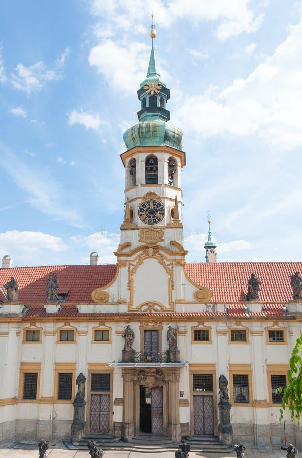 Loreta, Loreto/, Praga, republika czech zdjęcie royalty free