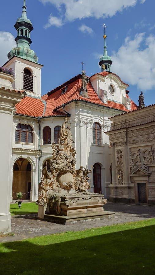 Loreta, Praga imagenes de archivo