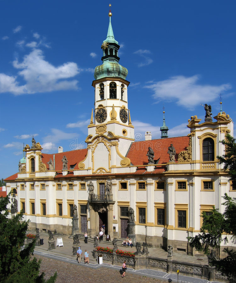 loreta sanktuarium Prague zdjęcia royalty free