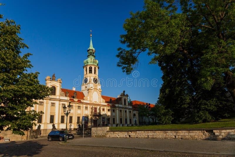 Loreta w Praga Praha fotografia stock