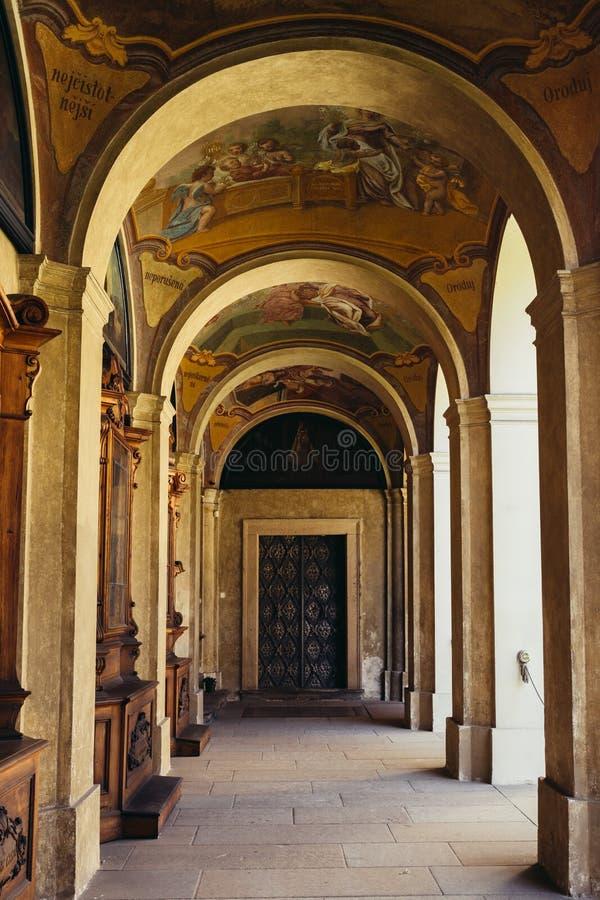 Loreto Praga stara architektura w republika czech fotografia royalty free