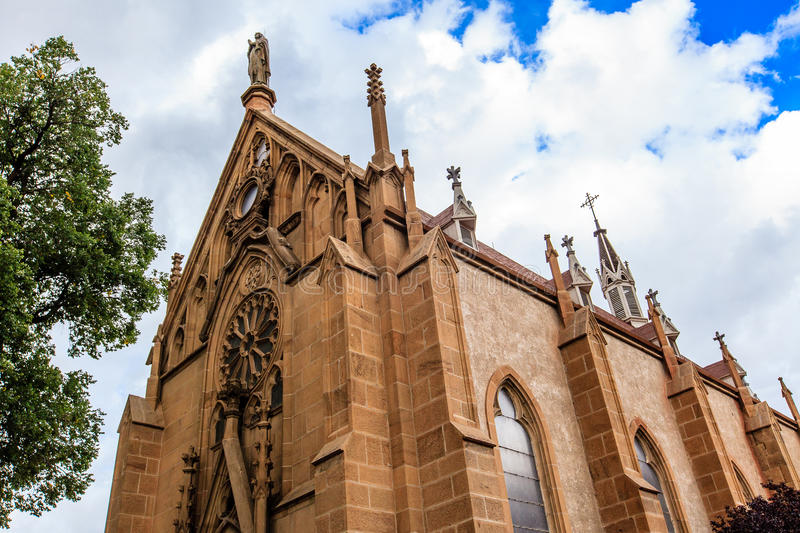 Loretto Chapel Santa Fe royalty free stock photos
