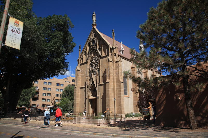 Loretto Chapel - Santa Fe, New Mexico royalty free stock photos