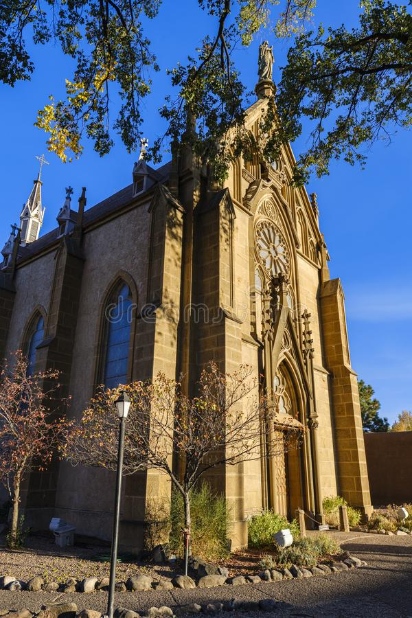 Loretto Chapel Santa Fe stock photography