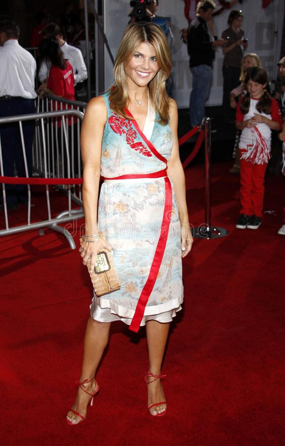 Lori Loughlin. At the Los Angeles premiere of `High School Musical 3: Senior Year` held at the Galen Center in Los Angeles, USA on October 16, 2008 royalty free stock images