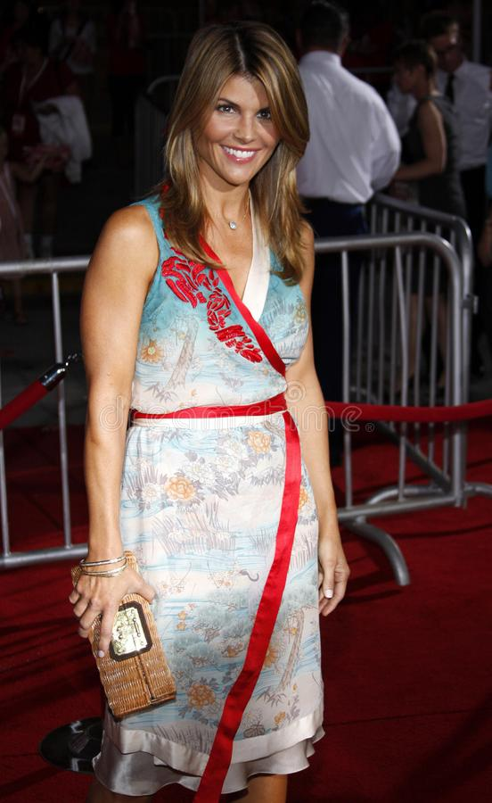 Lori Loughlin. At the Los Angeles premiere of `High School Musical 3: Senior Year` held at the Galen Center in Los Angeles, USA on October 16, 2008 stock image