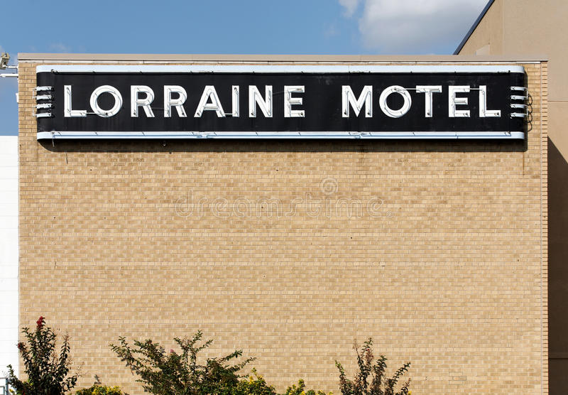 Lorraine Motel stockbild