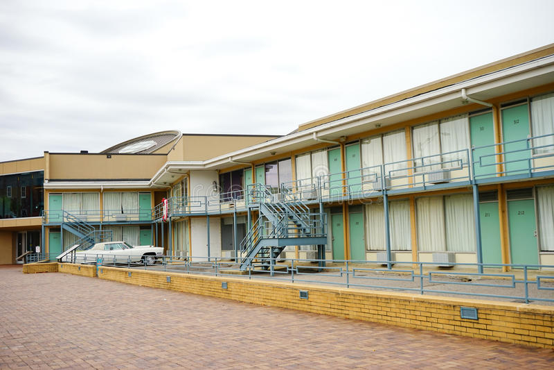 Lorraine Motel arkivbild