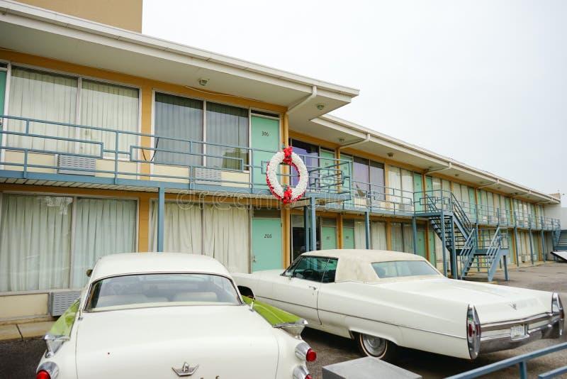 Lorraine Motel stock afbeelding