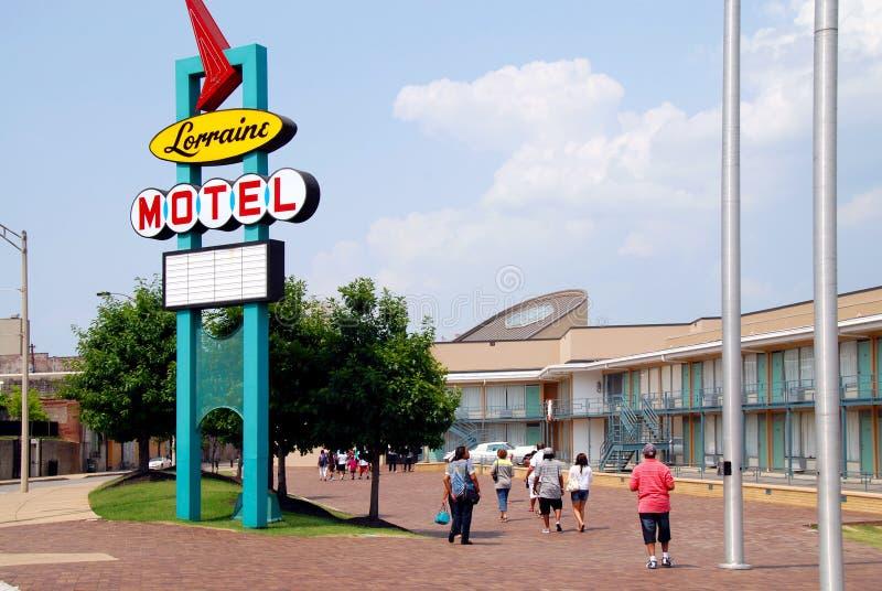 Lorraine Motel stock afbeeldingen