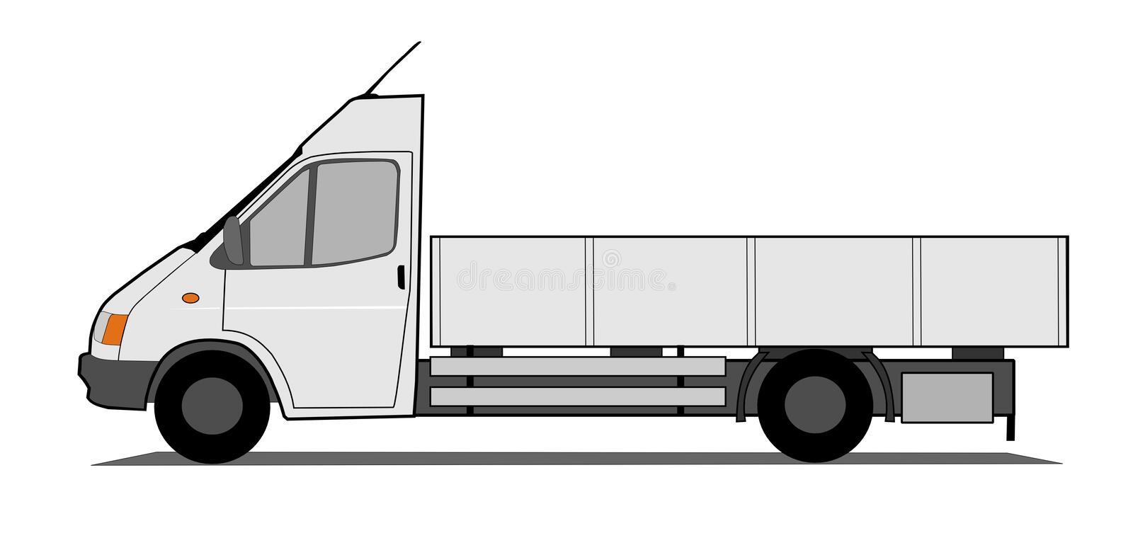 Download Lorry stock vector. Illustration of automobile, business - 14951004