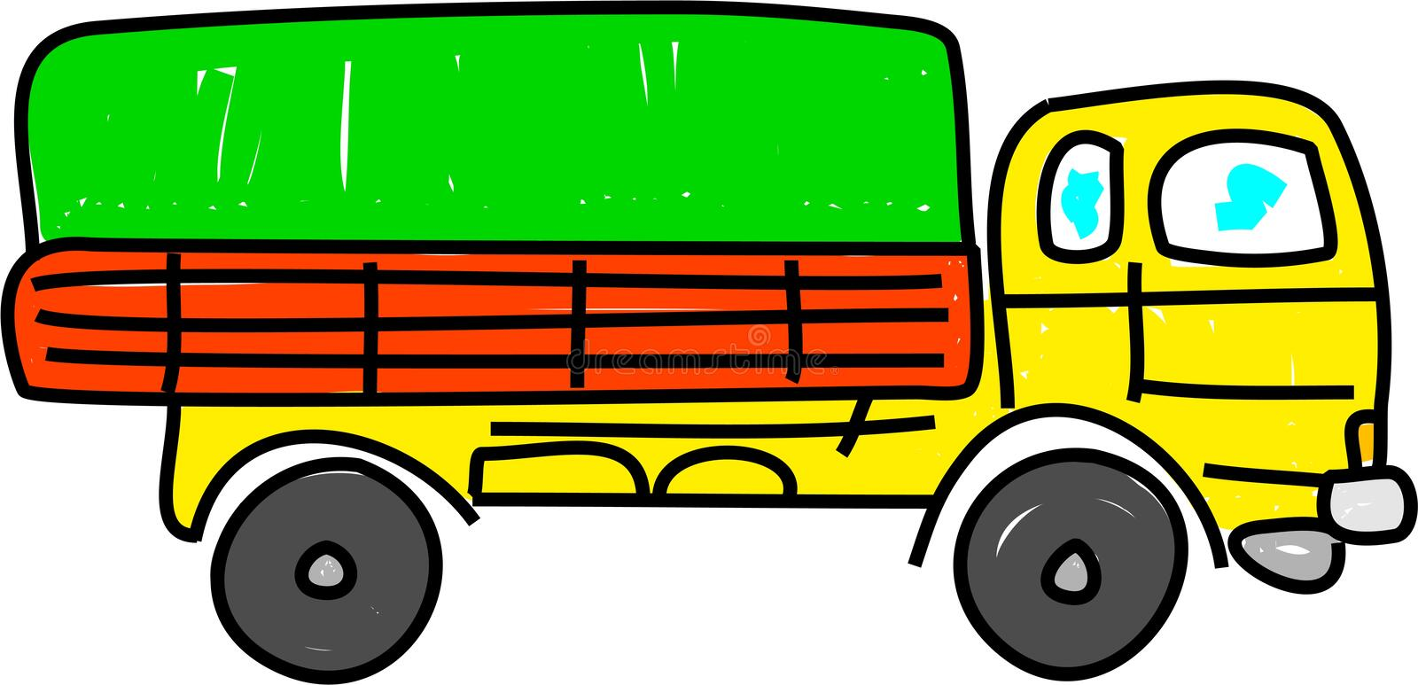 Download Lorry stock illustration. Image of clipart, vehicle, industry - 2592778