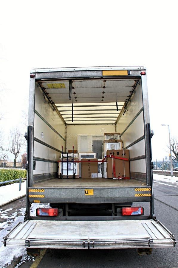 lorry royaltyfria bilder