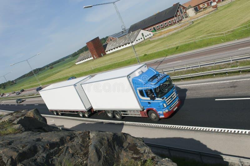 lorrytransport arkivfoton