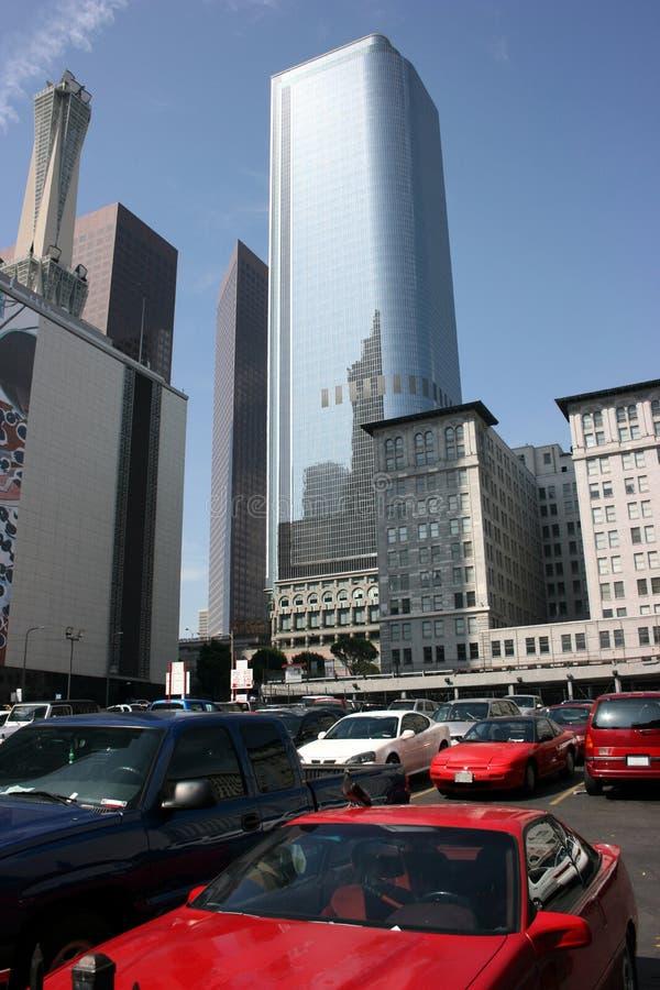 Los Ángeles, céntrico imagen de archivo