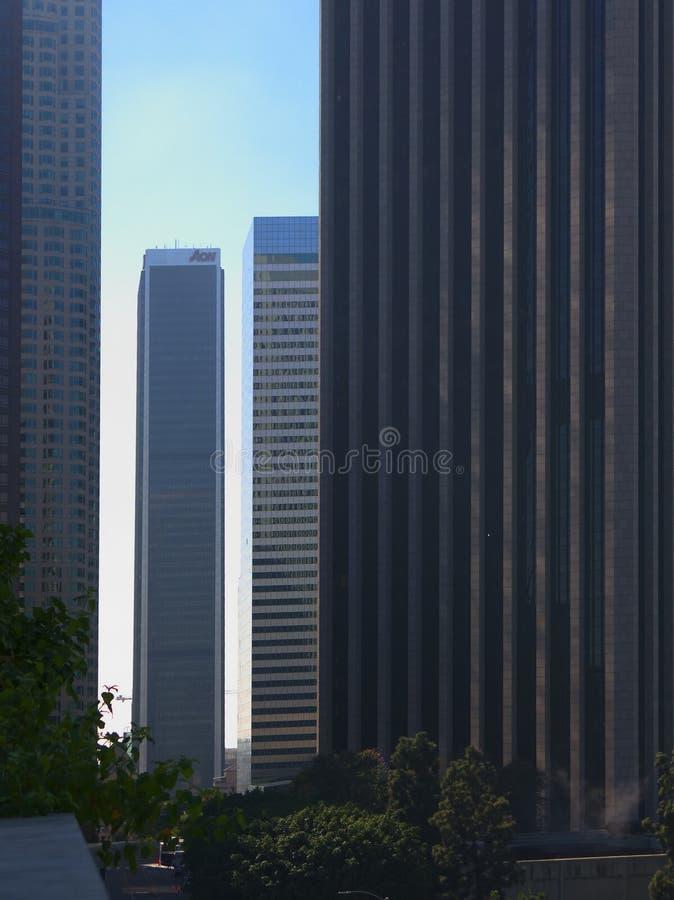 Los Ángeles céntrico foto de archivo libre de regalías