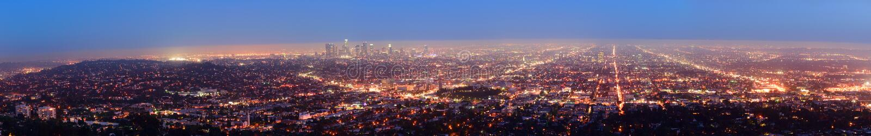 Los Ángeles céntrico fotos de archivo