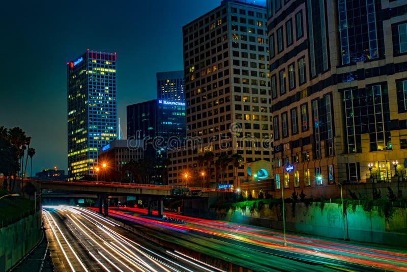 Los Ángeles céntrico imagenes de archivo