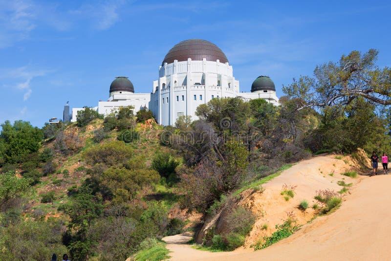 Los Ángeles, CA Griffith Observatory imagen de archivo libre de regalías