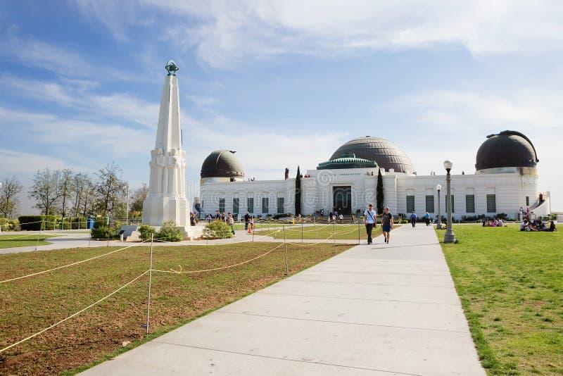 Los Ángeles, CA Griffith Observatory fotos de archivo libres de regalías
