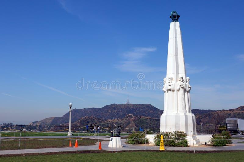 Los Ángeles, CA Griffith Observatory fotos de archivo