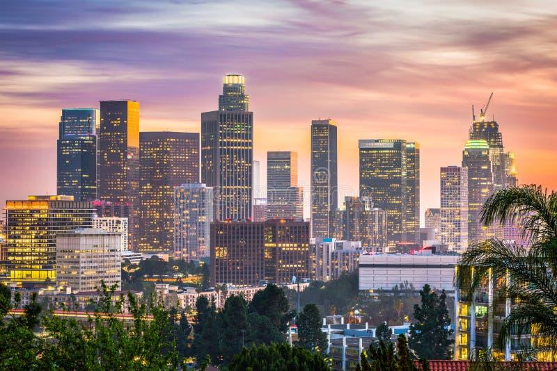 Los Ángeles, California, los E fotografía de archivo libre de regalías