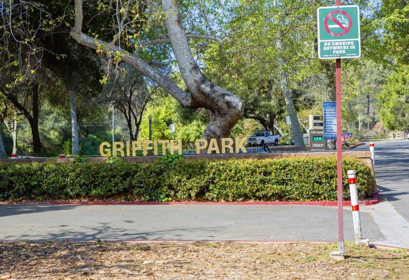 Los Ángeles, los E.E.U.U., Griffith Park imagenes de archivo