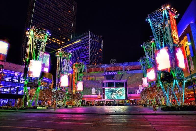 Los Ángeles, los E.E.U.U. - vigésimos de enero de 2013: Cuadrado de Microsoft imagen de archivo libre de regalías