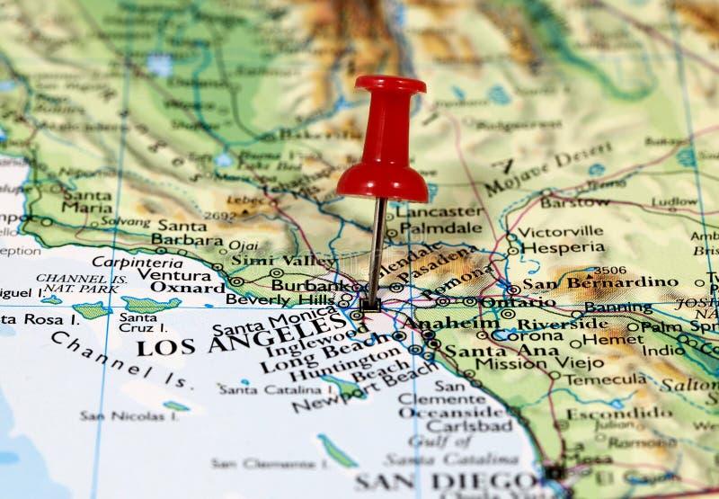Los Ángeles en California, los E.E.U.U. foto de archivo