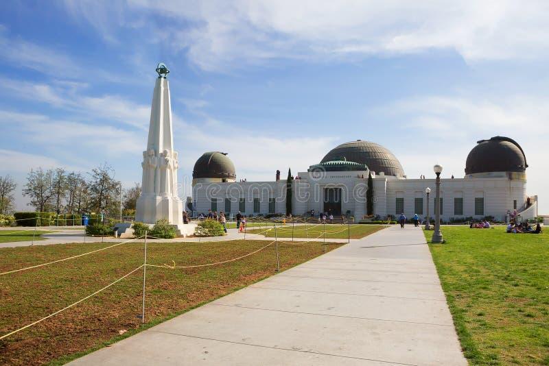 Los Ángeles Griffith Observatory foto de archivo libre de regalías