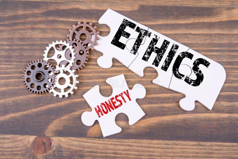 Los éticas y concepto de la honradez ilustración del vector