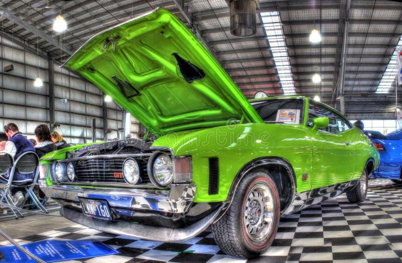 Los años 70 australianos clásicos Ford Falcon imagen de archivo libre de regalías